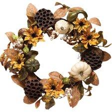 "20"" Faux Silk Wreath"