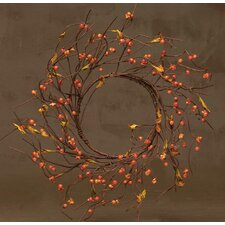 "18"" Faux Silk Wreath"