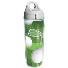 Game On Golf Balls Water Bottle