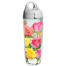 Garden Party Coming Up Roses Water Bottle