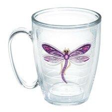 Garden Party Dragonfly Shimmer Mug
