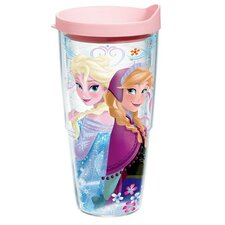 Disney Frozen Anna and Elsa Tumbler with Lid