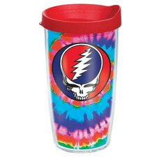 Grateful Dead Steal Face Tumbler with Lid