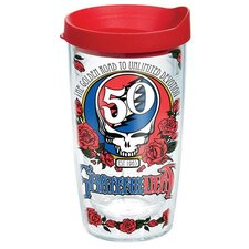 Grateful Dead 50th Tumbler with Lid