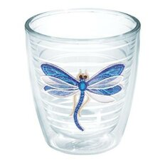Garden Party Dragonfly Shimmer Tumbler