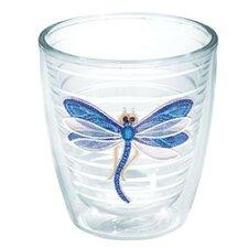 Garden Party Dragonfly Shimmer Tumbler
