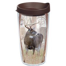 Great Outdoors Deer Trio Tumbler with Lid
