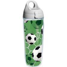 Game On Soccer Water Bottle