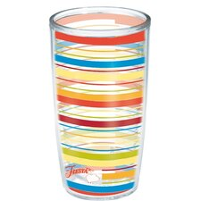 Fiesta Poppy Stripes Tumbler