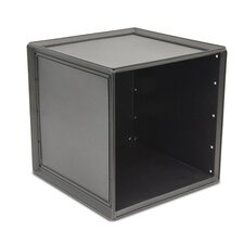 "Plastic Storage 14.75"" Cube Unit Bookcase (Set of 2)"