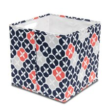 Fabric Knock Down Full Storage Bin (Set of 4)