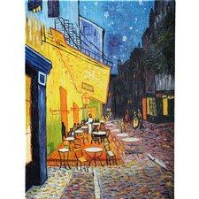 "Leinwandbild ""Le Cafe Soir"" von Vincent van Gogh, Kunstdruck"