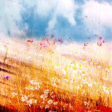 """Leinwandbild """"Wie herrlich leuchtet mir die Natur"""" von Kay Weber, Kunstdruck"""