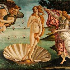 "Leinwandbild ""Birth of Venus"" von Sandro Botticelli, Kunstdruck"