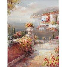 Leinwandbild Amalfi Coast Maiorie, Kunstdruck