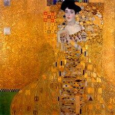 """Leinwandbild """"Adele Bloch Bauer I"""" von Gustav Klimt, Kunstdruck"""