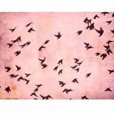 """Leinwandbild """"Flying South"""" von Friederike Alexander, Grafikdruck"""