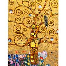 Leinwandbild Tree of Life, Originalgemälde von Gustav Klimt