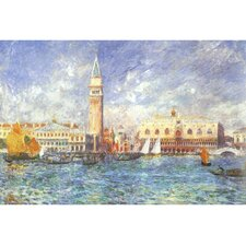 "Leinwandbild ""The Doge's Palace in Venice"" von Auguste Renoir, Kunstdruck"