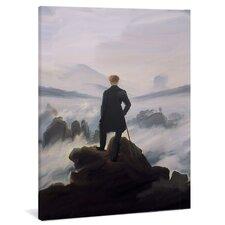 "Leinwandbild ""Der Wanderer über dem Nebelmeer"", Originalgemälde"