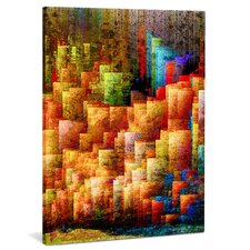 "Leinwandbild ""Big City Lights"", Originalgemälde"
