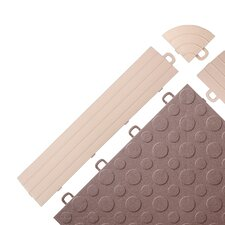 Interlocking Ramp Edges in Beige without Loops