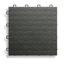 "12"" x 12""  Garage Flooring Tile in Black"
