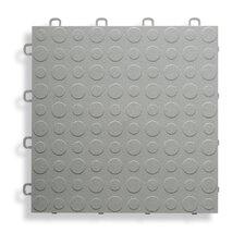 "12"" x 12""  Garage Flooring Tile in Gray"