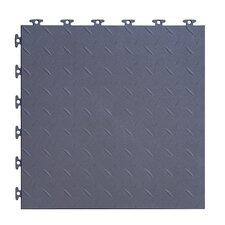 "18"" x 18""  Multi-Purpose Flexible PVC Diamond Pattern in Gray"