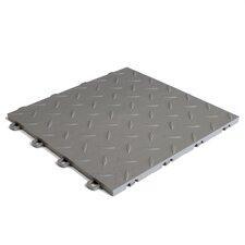 "12"" x 12""  Garage Flooring Tile in Grey"
