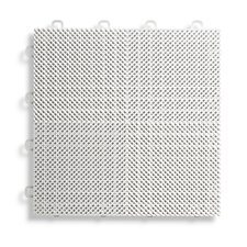 """12"""" x 12""""  Deck and Patio Flooring Tile in White"""