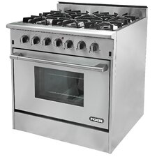 5.2 Cu. Ft. Gas Convection Range