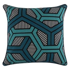 Pop Honeycomb Cotton Throw Pillow