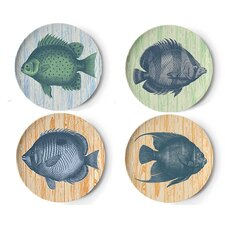 Vineyard 4 Piece Side Plate Set