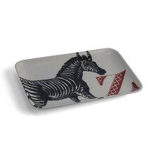 Alphabet Z Zebra Serving Tray