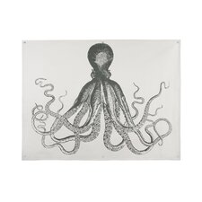 Octopus Graphic Art on Canvas
