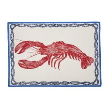 Lobster Sketch Tea Towel