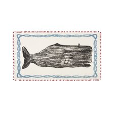 Whale Sketch Scarf