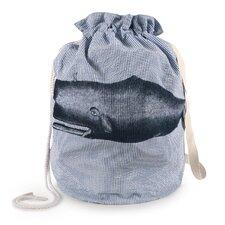 Moby Seersucker Laundry Bag