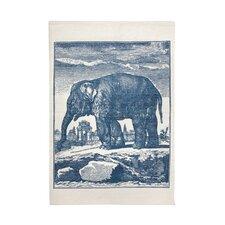Elephant Etching Bath Mat