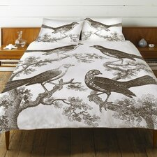 Ornithology Cotton Duvet Cover