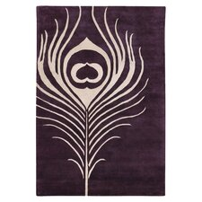 Tufted Pile Feather Rug