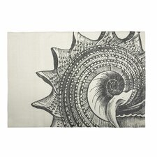 Bath Shell Mat in Charcoal