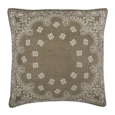 Fragments Bandana Cotton Throw Pillow
