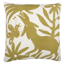 Fragments Otomi Cotton Throw Pillow