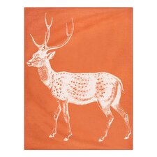 Baby Deer Alpaca Wool Throw