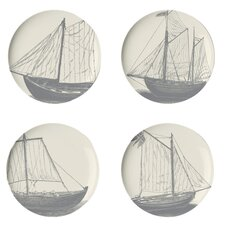 Maritime Side Plate Set