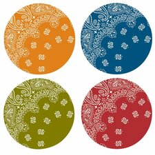 "Ranchero 11"" Melamine Dinner Plate 4 Piece Set (Set of 4)"