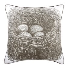 "Nest 18"" Cotton Throw Pillow"