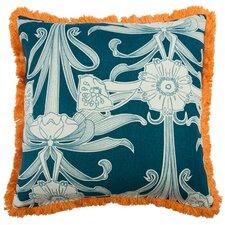 """Morris 22"""" Linen Throw Pillow"""